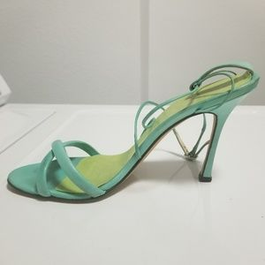 Brian Atwood Strappy Sandals Mint 36.5